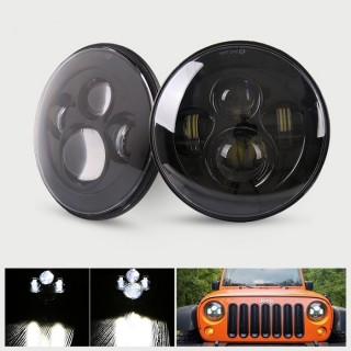 JEEP WRANGLER RUBICON MERCEKLİ LEDLİ FAR SETİ